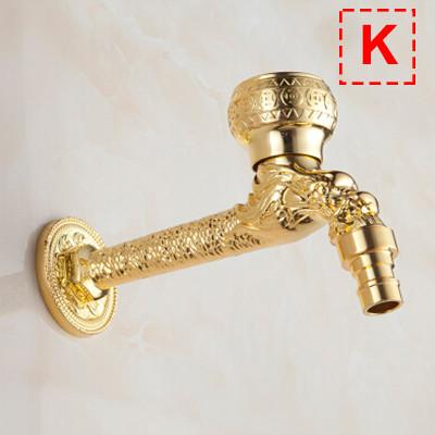 $42.05- Solid Brass Antique Garden Faucet Single Handle Single Hole Washing Machine Faucets Crane Wall Mount Mop Pool Tap Mixer Torneira