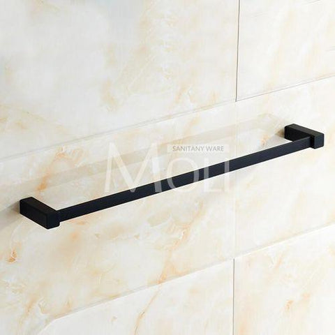 $65.12- HighGrade Copper Bathroom Accessories Set Black Rubble Painting Towel Bar Toilet Paper Rack Robe Hook Soap Dish Cup Holder