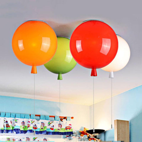 $24.88- Wecus Fashion Balloon Lamps Ceiling LightsColorful Baby Child Room LampDining Room Bedroom Bedside Balcony Lighting Lamparas