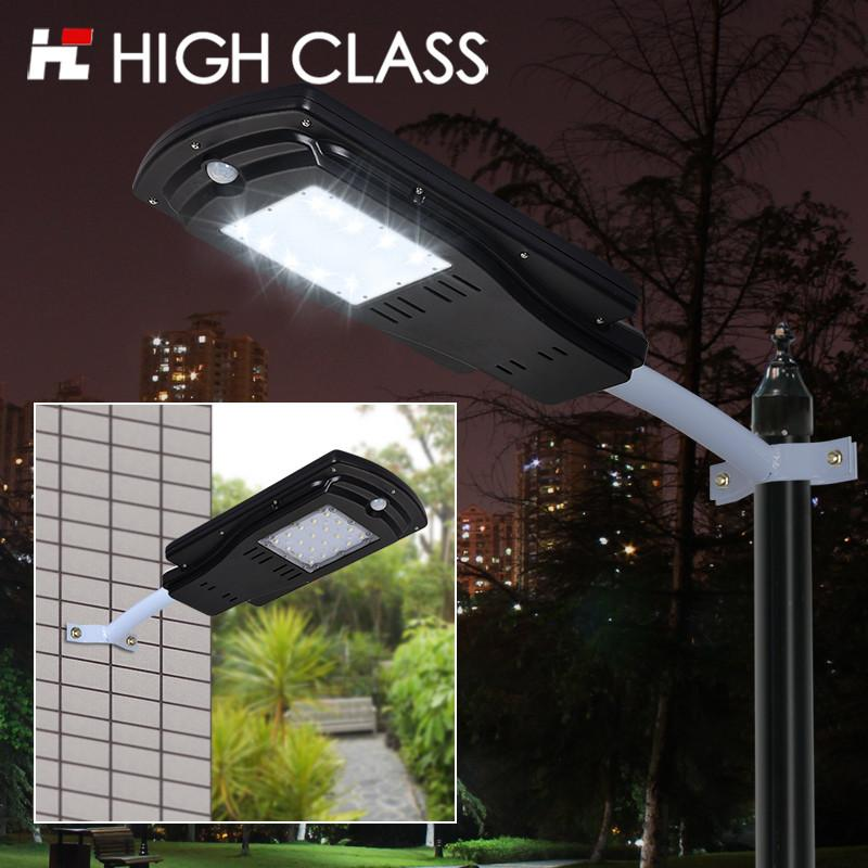 $185.66- 8W 10W Outdoor Waterproof Ip65 Integrated All In One Pir Sensor Led Solar Sun Street Light For Garden Yard Park Road Path Lighting