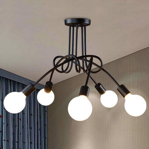 $67.85- Hot Fashion Design Of Kids Room Lamp Nordic Dome Light 3/5 Heads Ceiling Lights For Home Decoration 110240V Cl550