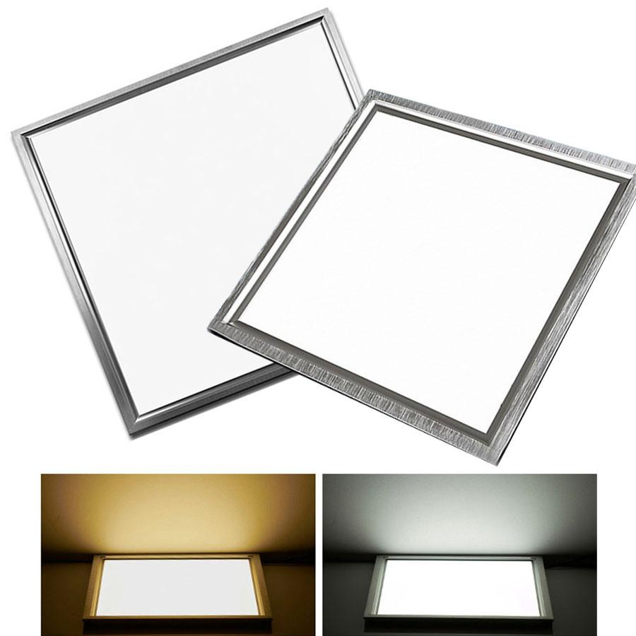 $30.56- Ultra Thin Led Panel Ceiling Light 8W 12W 18W 300X300 Integrated Embedded Ceiling Wall Panel Lamps For Kitchen Bathroom Office