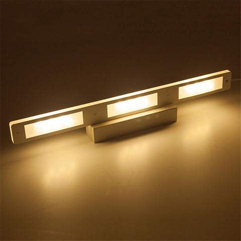 $53.78- Modern Bathroom Led Mirror Light 6W 12W Waterproof 33Cm 53Cm For Bathroom Wall Sconce Lamp Apliques De Pared Luz Ac 90V260V