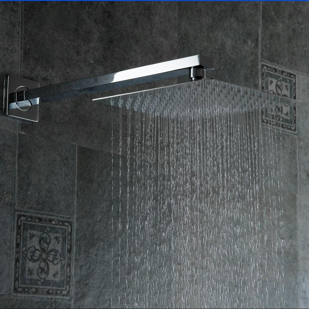 Buy High Quality 10 Stainless Steel Shower Head W/ Arm Wall Mounted ...