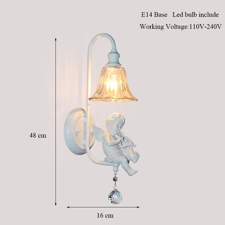 indoor sconce lighting fixtures indoor wall 10030 white flower angel baby resin wall lamp sconce lighting fixture for home bedroom buy
