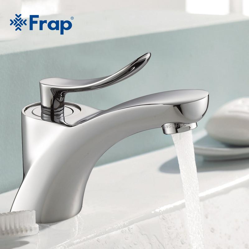 $86.58- Classic Style Basin Faucet Cold Hot Water Mixer Single Handle Tap F1081