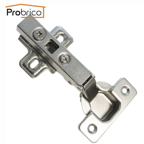 $32.38- Probrico Full Overlay 4 Pair Kitchen Cabinet Hinge Chh093Ga Concealed Furniture Cupboard Door Hinge