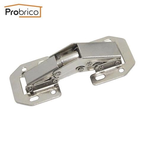 $5.68- Probrico Kitchen Cabinet 90 Degree Hinges Iron Chb405Ga Furniture Concealed Cupboard Door Hinge Openings