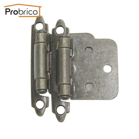 $255.73- Probrico 100 Pair Self Close Antique Bronze Kitchen Cabinet Hinge Ch197Ab Furniture Concealed Cupboard Door Hinge