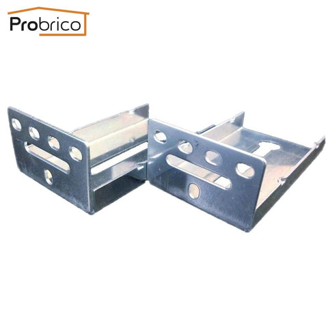 $30.58- Probrico 20 Pcs Mount Rear Frame Drawer Brackets For Drawer Slides