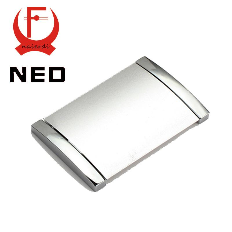 $5.28- Brand Ned 1Pc Diameter 70Mm Hole Pitch 64Mm Aluminum Alloy Handles W/ Screws Drawer Furniture Wardrobe Knobs Cabinet Hardware