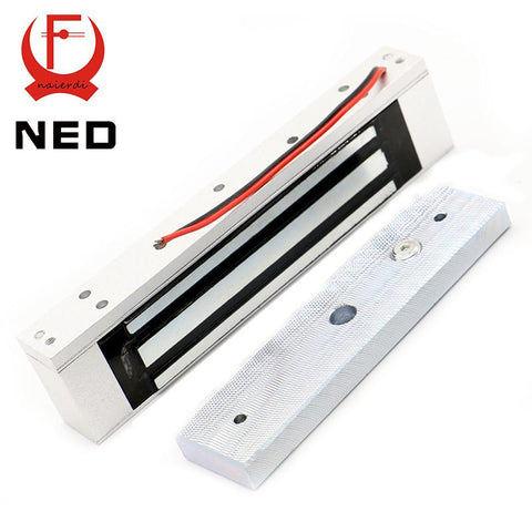 $48.38- Ned Single Electric Light Door Lock 12V Magnetic Electromagnetic Lock 180Kg 350Lb Holding Force For Access Control System