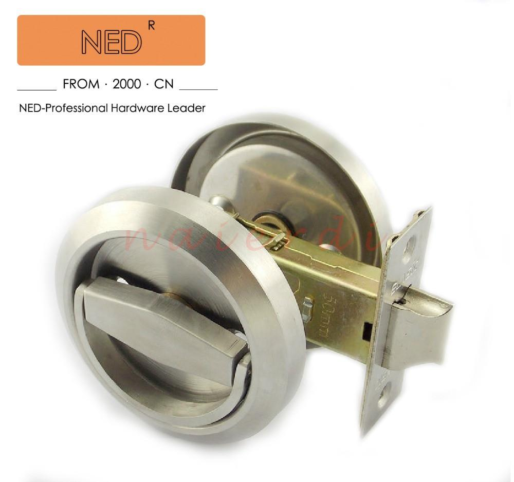$28.49  Ned Stainless Steel 304 Recessed Invisible Cup Handle/ Privacy/Hidden  Door Locks