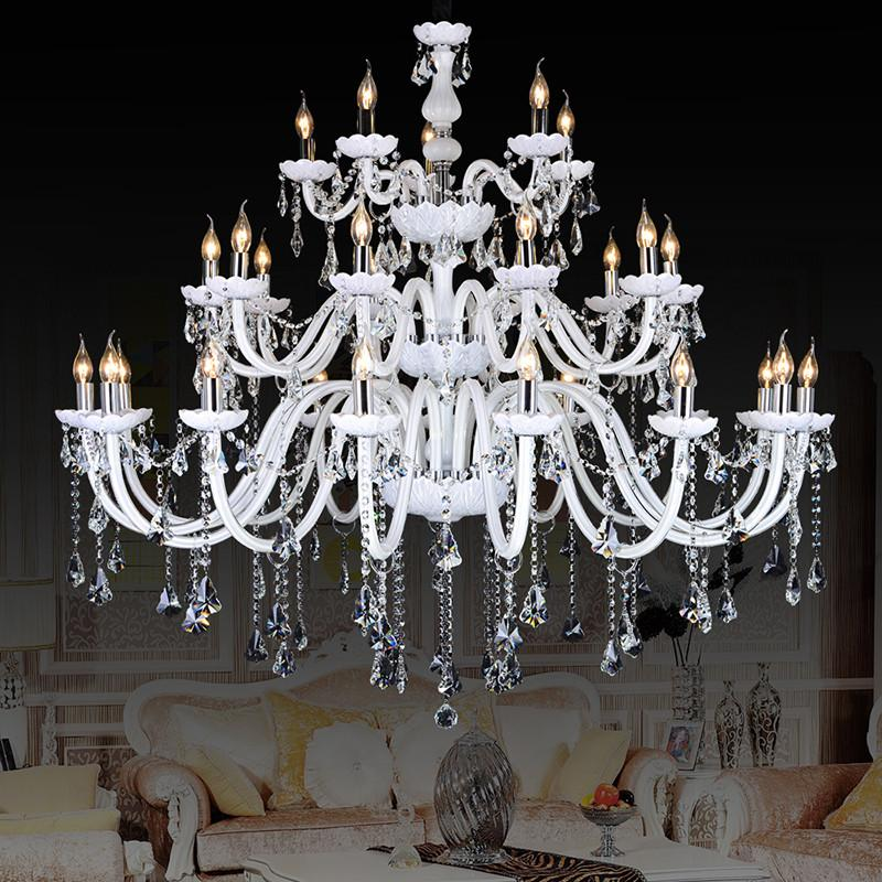 $1327.36  Crystal Large Chandeliers Contemporary Lampshades 30 Antique  Brass Kristall Kronleuchter Bohemian Crystal Chandelier 18