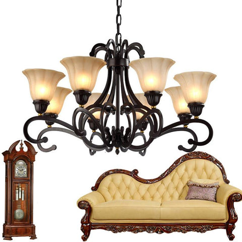 $767.52- Bohemian Large Antique Chandelier Brass Chandeliers Burnt Sienna Finish Traditional Chandeliers Oiled Copper Finish Chandeliers