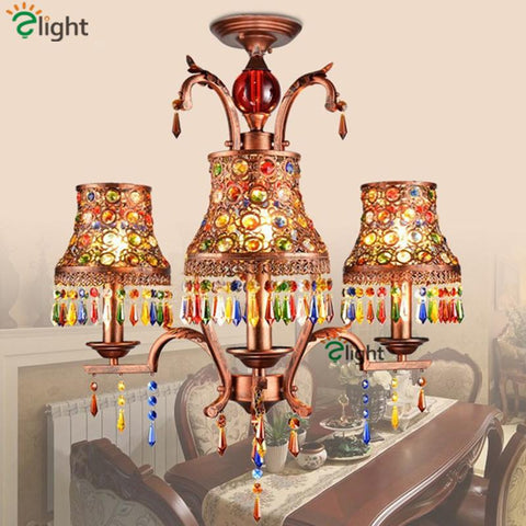 Bohemian Large Antique Chandelier Brass Chandeliers Burnt Sienna Finish Traditional Chandeliers Oiled Copper Finish Chandeliers