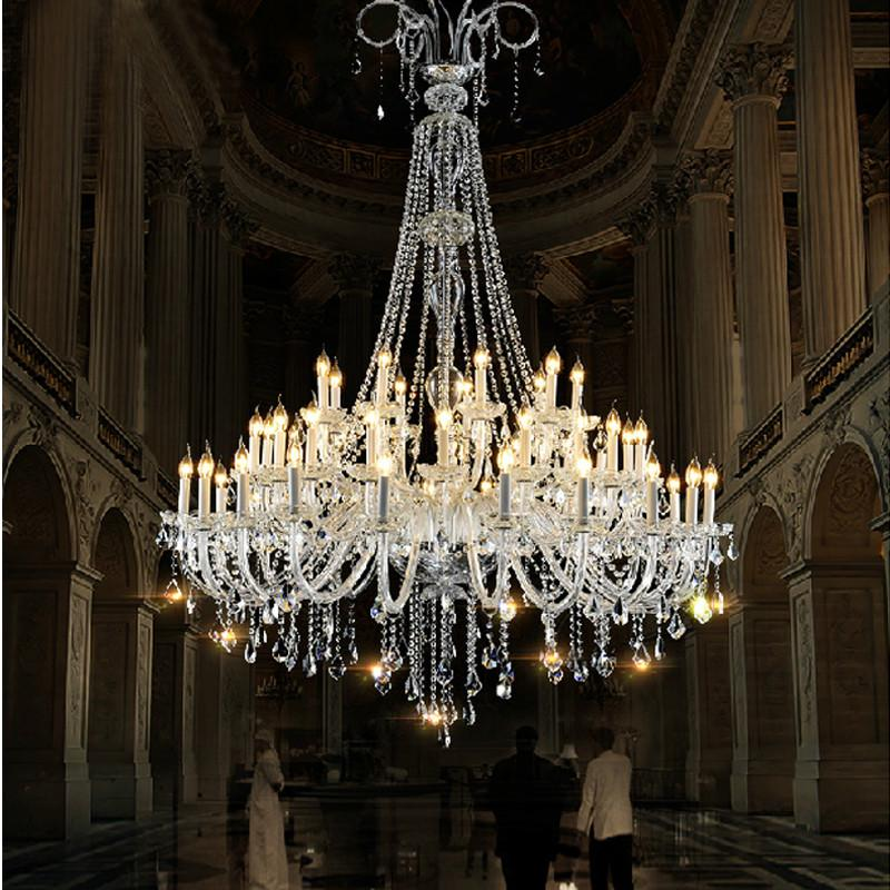 $3716.52- Bohemian Crystal Chandelier For Living Room Crystal Chandelier Elegant Contemporary Crystal Chandelier Duplex Buildings