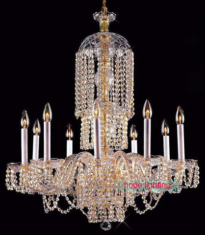 $820.00- High Quality Large Crystal Chandeliers For Hotels Led Crystal Chandelier Chandeliers Kitchen Bohemian Crystal Chandeliers