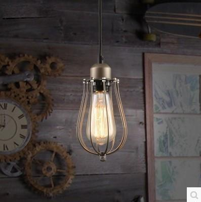 $64.01- 60W Edison Retro Vintage Lamp Loft Style Vintage Industrial Lighting Pendant Lights W/ Glass Lamp Shade