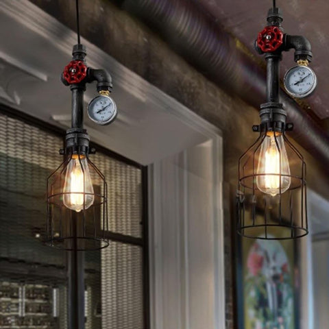 $113.24- Edison Retro Loft Style Industrial Vintage Pendant Lights Fxitures Bar Dinning Room Rope Pipe Lamp