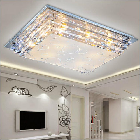 $157.44- Modern Luxury Glass Led Ceiling Lamp E27 Led Lamp Minimalist Living Room Dining Room Low Voltage Lighting Fixtures Special