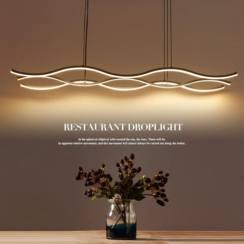 $127.16- Minimalist Modern Led Pendant Lights For Dining Room Living Room Hanging Hanglampen Suspension Pendant Lamp Fixture Mail