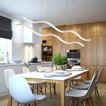 $213.18- Minimalist Modern Led Pendant Lights For Dining Room Living Room Hanging Hanglampen Suspension Pendant Lamp Fixture Mail