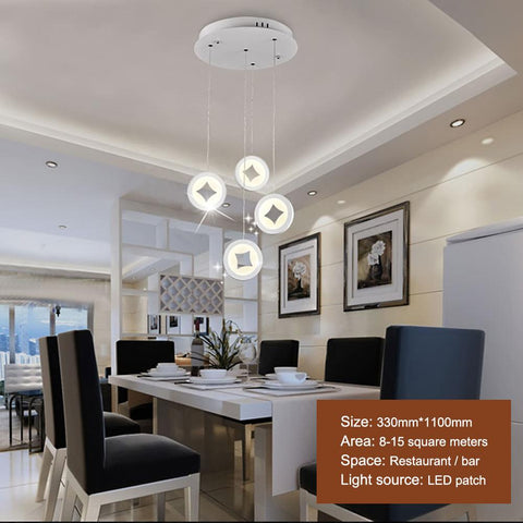 Modern E27 Shape Iron Led Pendant Lights Scandinavian Minimalist Home Decoration Black/White Dining Room Pendant Lamp