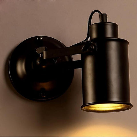 $41.81- Retro Vintage Industrial Edison Simplicity Light Bedside Wall Mount Light Sconces Aged Steel Finished Antique E27 Led Lamp