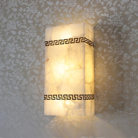 $161.50- Spain Marble Stone Wall Lamps Led Wall Sconce Bedroom Kitchen Wall Lamp Led Wall Lights For Home Indoor Lighting Interior