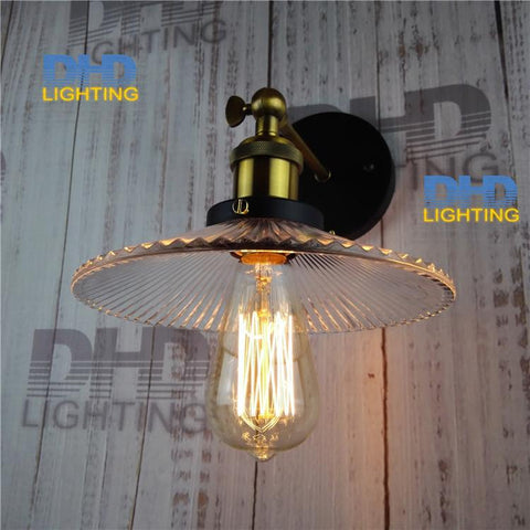 E27 Vintage Edison Lighting Ac110V-240V Retro Wall Lamp Base Three Heads Loft Industrial Iron Pipe Lighting Holder
