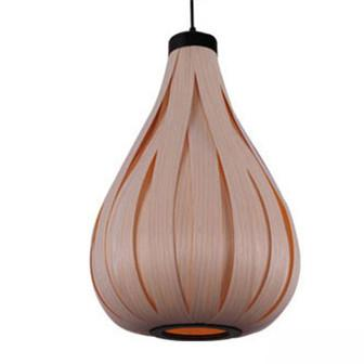 $391.56- Vintage Led Pendant Light Oak Wood Retro Lamp E27 Wood Lamp Hanging Light Fixture Loft Bar Asian Japanese Chinese Country Style
