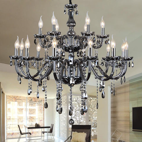 $1056.00- Restoration Hardware Lighting Chandeliers Large French American Empire Style Crystal Chandelier Restoration Hardware Lighting