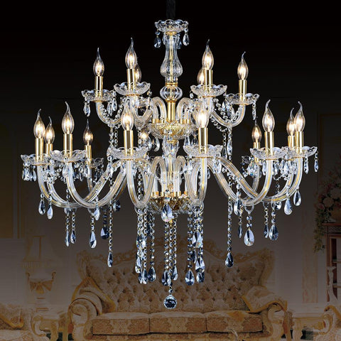 $849.60- Dining Light Home Decor Lustre The Chandelier Crystal Modern Large Home Stair Lighting European Suspension Crystal Lighting Home