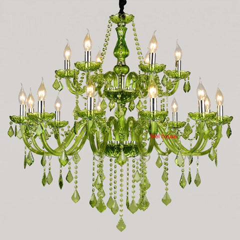 $992.00- Large Luxury Crystal Chandelier Fashion Modern Large Chandelier Light Lustres Dinning Room American Country Crystal Chandeliers