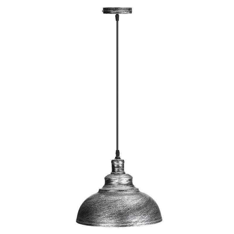 36 65 Vintage Edison Light Cover Lampshade E27 Industrial Retro Lamp Base Loft Iron Pendant Lights