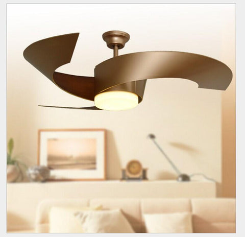 Ceiling Fan W/ Lights Remote Control 110240Volt Fan Led Light Bulbs Bedroom Fan Lamp