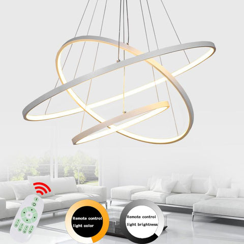 $77.17- Led Modern Pendant Lights Lamp For Living Room Bedroom Lamparas Colgantes Nordic Lustre Luminaire Industrial Lighting Fixtures