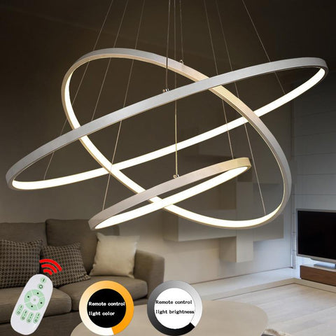 $74.65- Modern Led Pendant Lights Lamparas Acrylic Chandelier Ceiling Lamp Luminaire Deco Restaurant Lights Industrial Lighting Fixtures