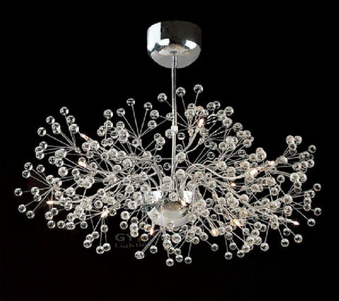 AC100-240V Luxurious Glass Ball Pendant Lamp Fixture Lighting LED Ceiling mounted novelty Lamps 100% Guarantee high quality