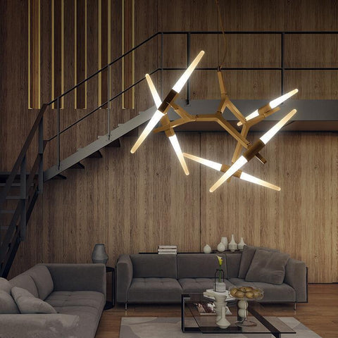 $251.09- Creative Branch Arts Roll Hill Agnes Pendant Light Lamp Modern Italian Design Personality Living Room Restaurant Lamps Fixtures