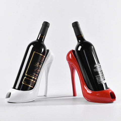 $35.15- High Heel Shoe Wine Bottle Holder Shoes Design Resin Wine Bottle Holder Rack Shelf For Home Party Restaurant L40