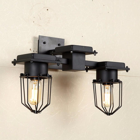 Loft Rh American Rural Industrial Retro Personality Lighting Ceiling Lamps Absorb Dome Light Include E27 Led Bulbs Large Version