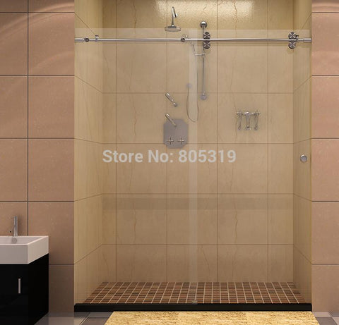 $280.50- 60Twin Roller Sliding Shower Door HardwareBarn Shower Door Hardware
