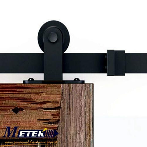 $187.00- 4.9Ft/6Ft/6.6Ft Carbon Steel Solid Wood Interior Barn Sliding Door Hardware