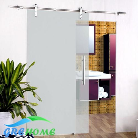 $127.50- 6.6 Ft Ss 304 Barn Glass Sliding Doors Hardware Closet System
