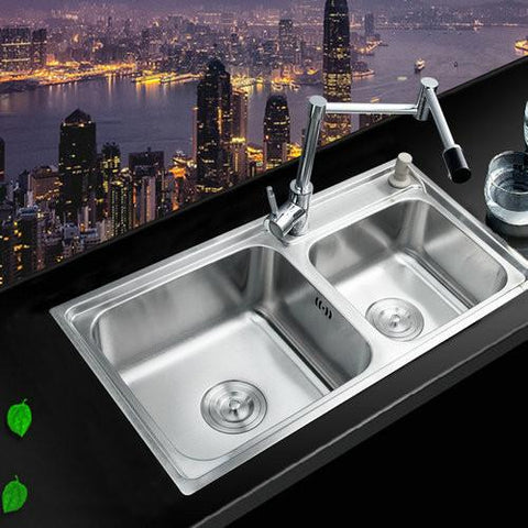 $718.89- Swivel 360 Kitchen FaucetBathroom Sink Faucet Torneira 304 Stainless Steel Washbasin Countertop Ss985284 Mixer Tap