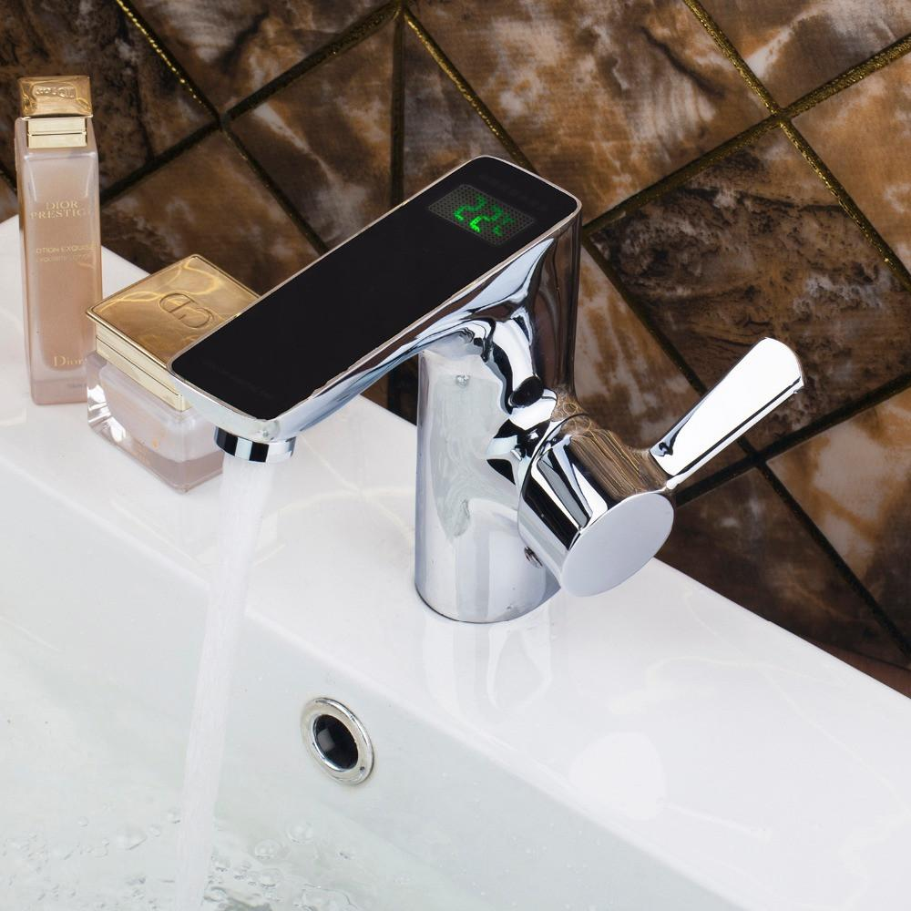 $144.23- Chrome Automatic Sensor Faucet For Cold Water Deck Mount Sink Water Tap Faucet