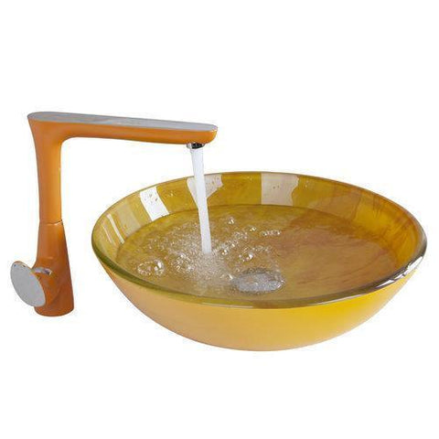 $363.50- Orange Kitchen Sink Swivel TapYanksmart Bathroom Sink Washbasin HandPaint 409697072 Lavatory Bath Brass Set FaucetMixer Tap