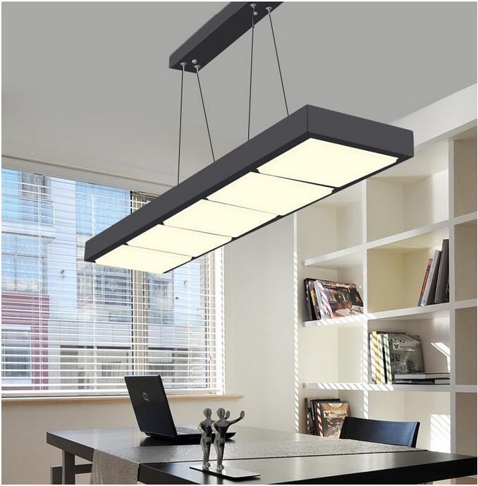 Modern Acrylic Chandelier Led Lamps High Power Living Room Dining Chandeliers Lustre Lighting